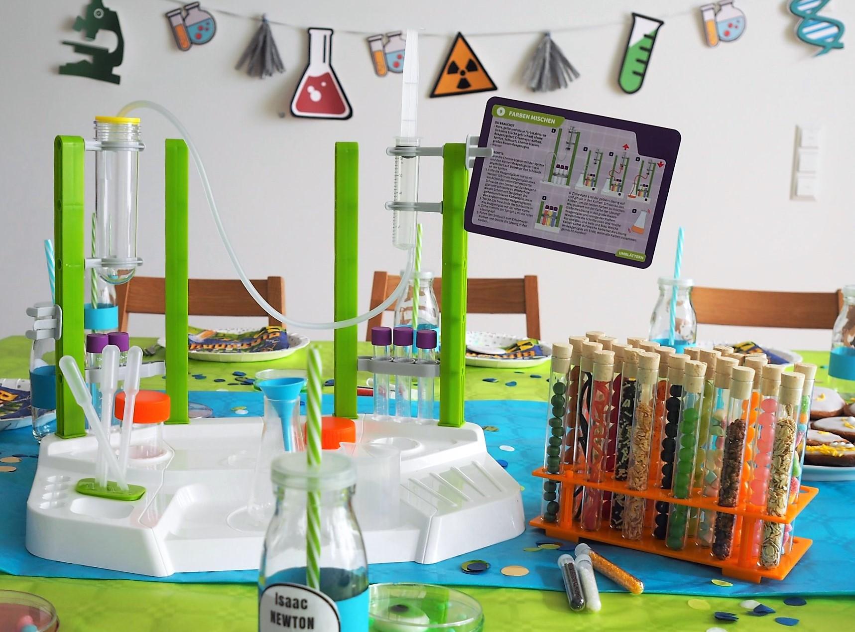 Forscher-Geburtstag