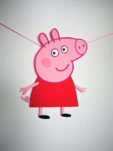 Peppa Wutz Girlande