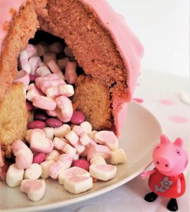 Füllung Pinata Peppa Wutz Kuchen