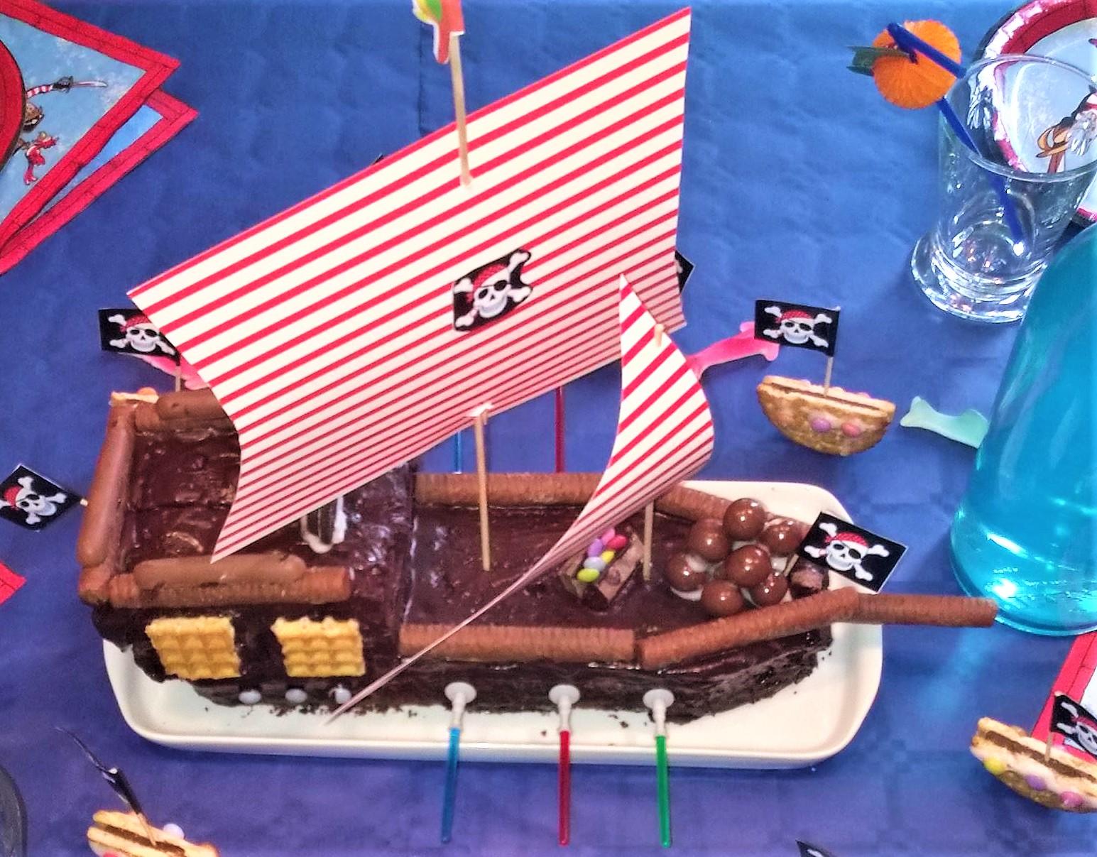 Piratenschiff Kuchen Ideenparty