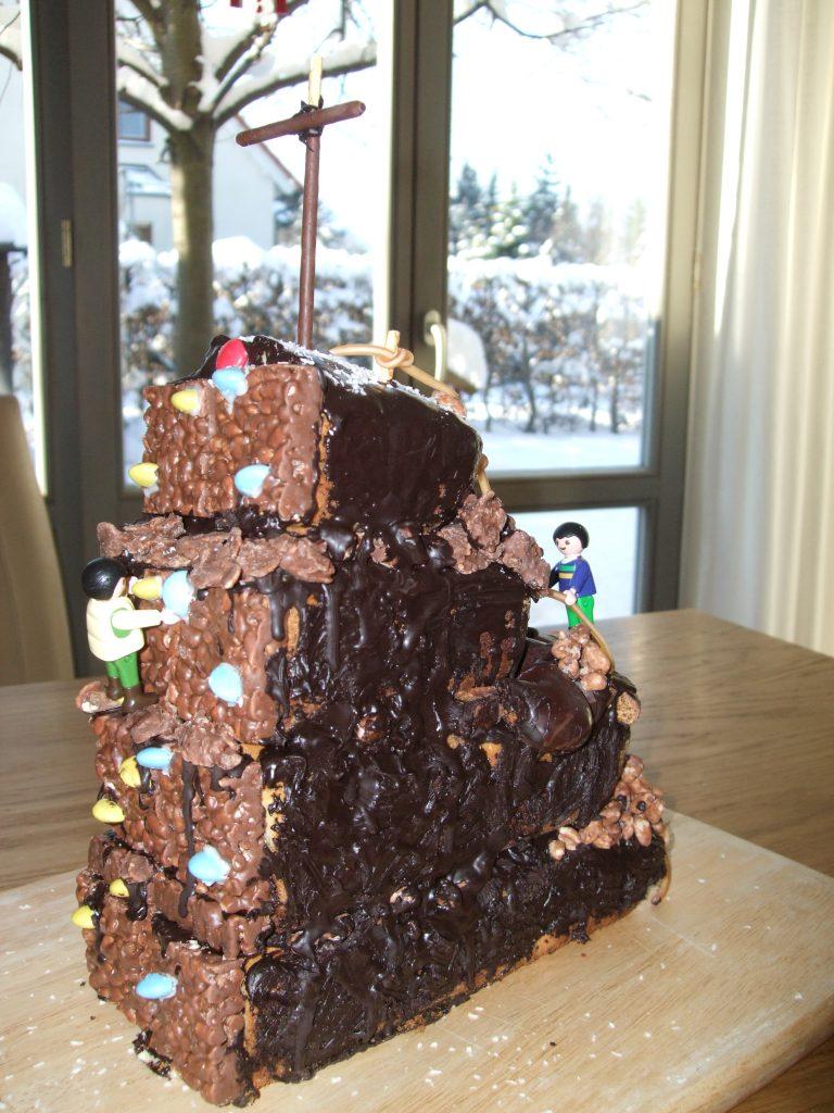Geburtstag Klettern Kuchen