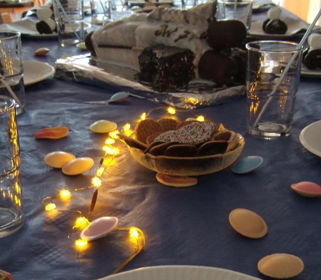 Weltraum-Geburtstag Tischdeko