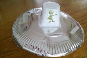 Ufo DIY Weltraum-Geburtstag