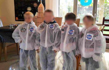 Weltraum-Geburtstag