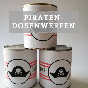 Piraten Dosenwerfen