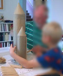 Keks-Rakete bauen