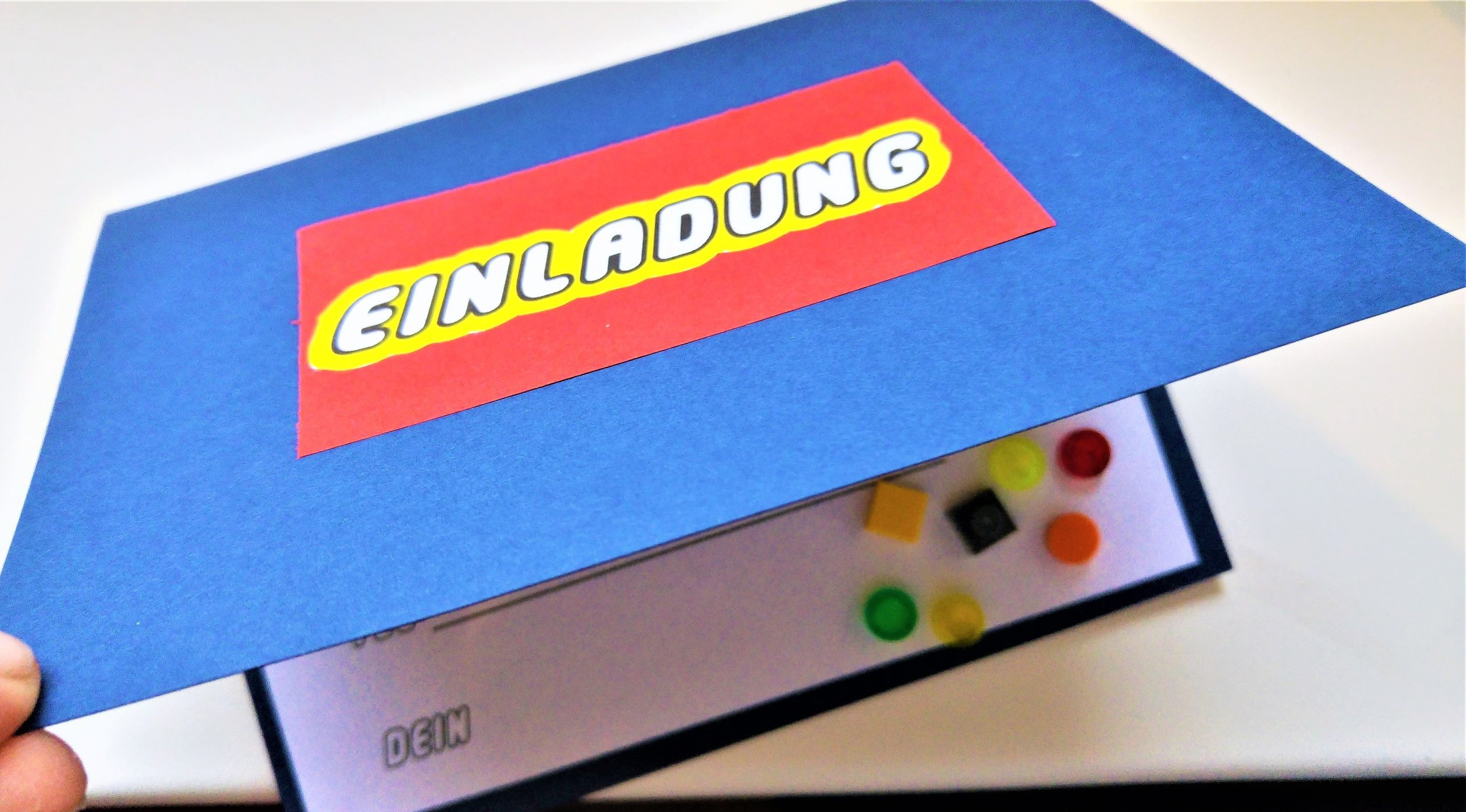 Einladung Lego-Geburtstag