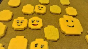 Lego Keks mit Fondant