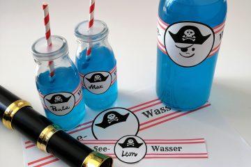 Piratengeburtstag Seewasser