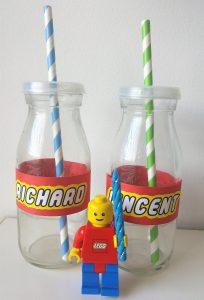 Trinkgläser Lego-Geburtstag