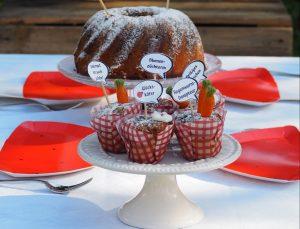Muffin-Topper Garten