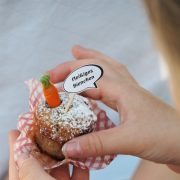 Muffin-Topper Gartenparty