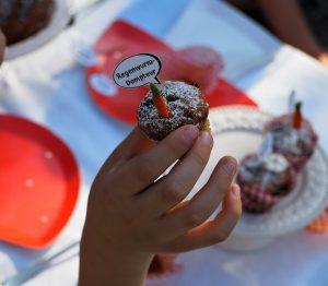 Muffin-Topper Gartenparty