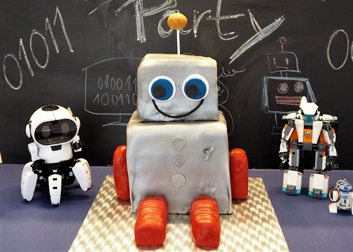 Roboterkuchen