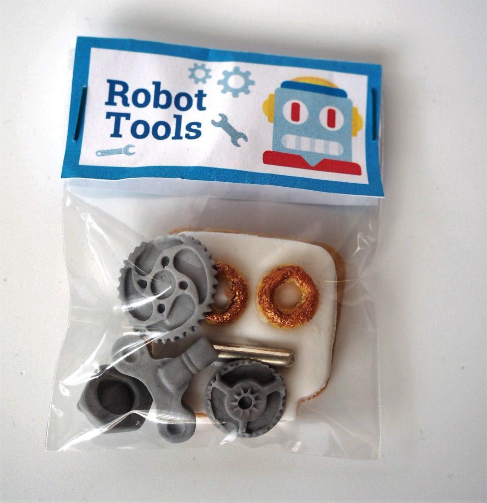 Roboter Geburtstag Tool Kit