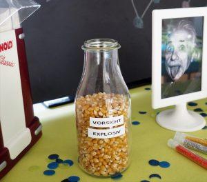 Forschergeburtstag Popcorn