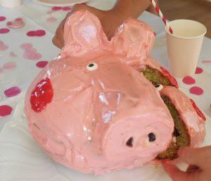 Peppa Wutz Kuchen Frischkäse