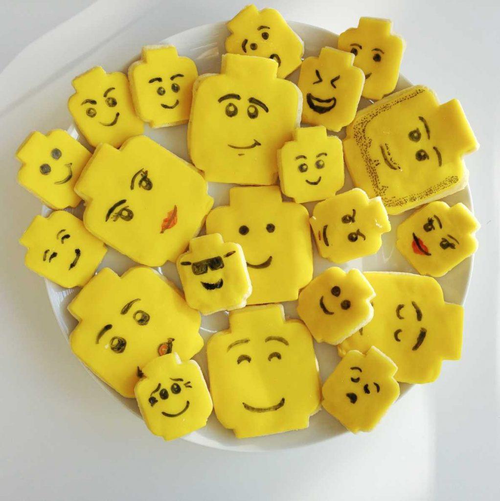 Lego-Kekse Lego-Geburtstag