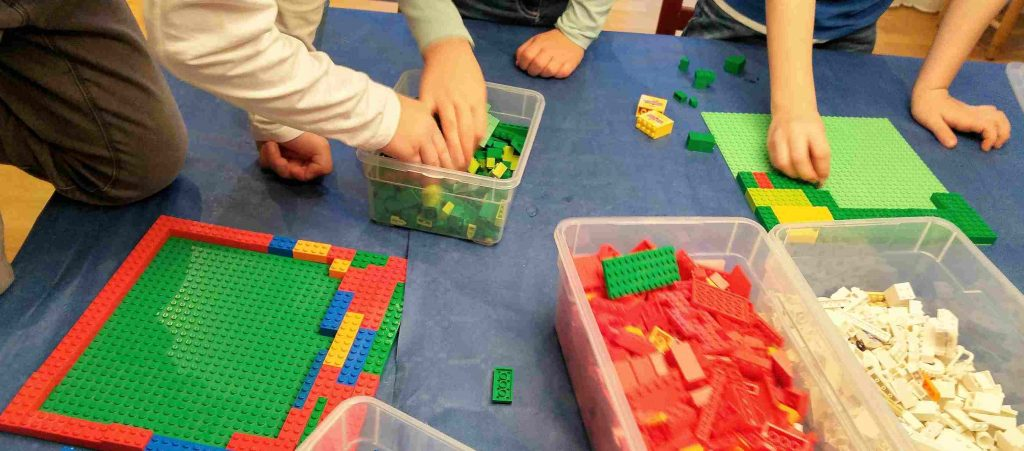 Lego-Geburtstag Lego-Spiele