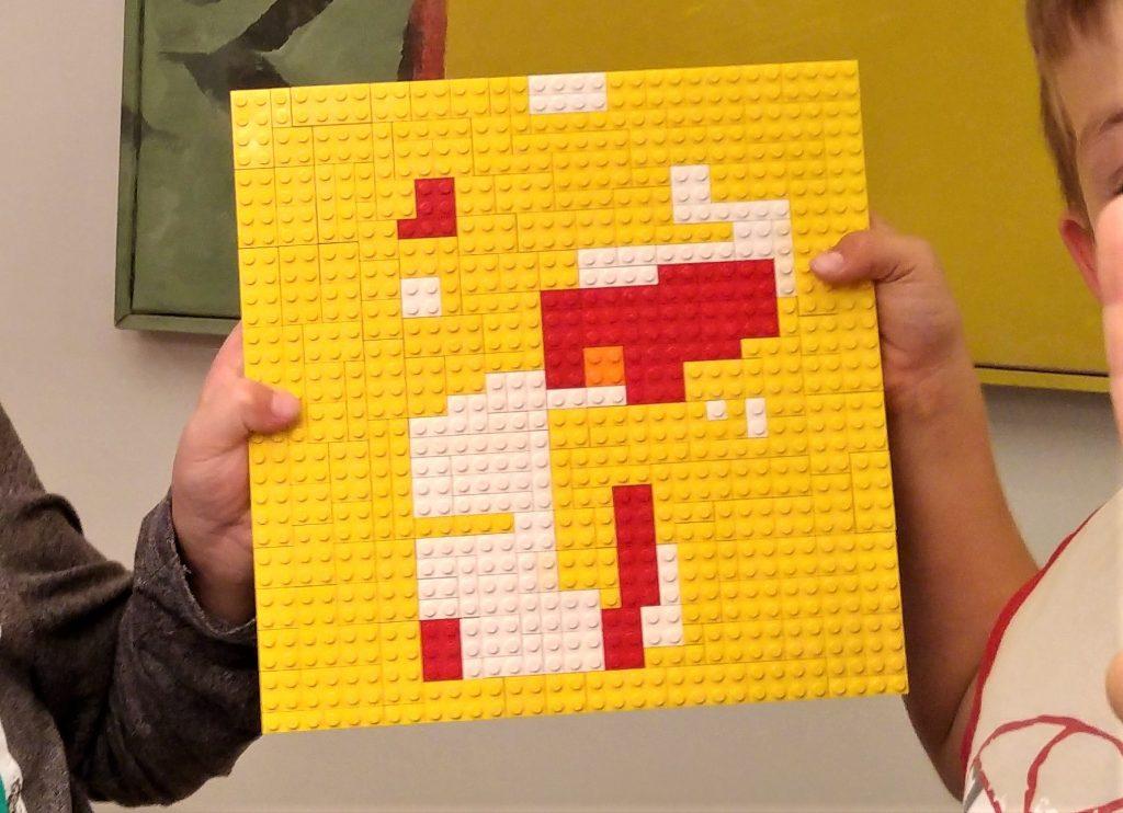 Lego-Mosaik