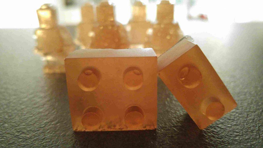 Legomänchen Gummibärchen