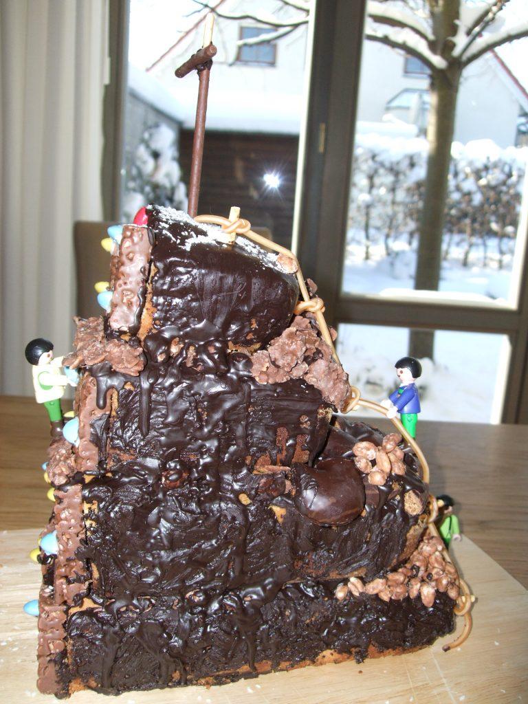 Kuchen Kletterwand