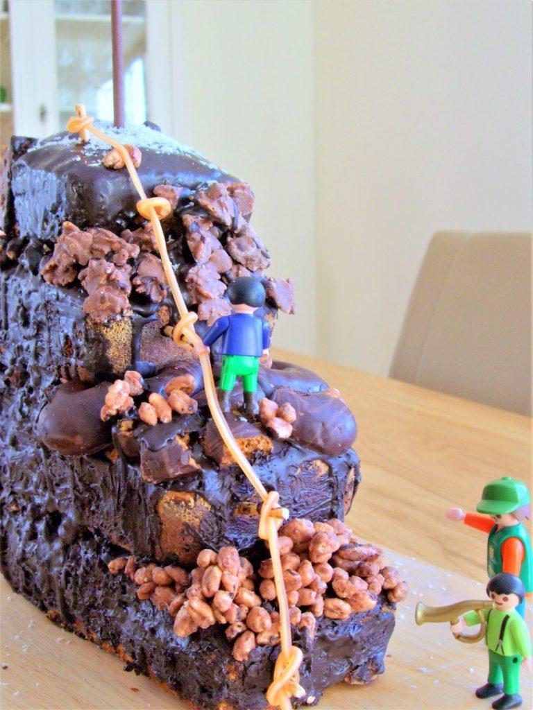 Kuchen Klettergeburtstag