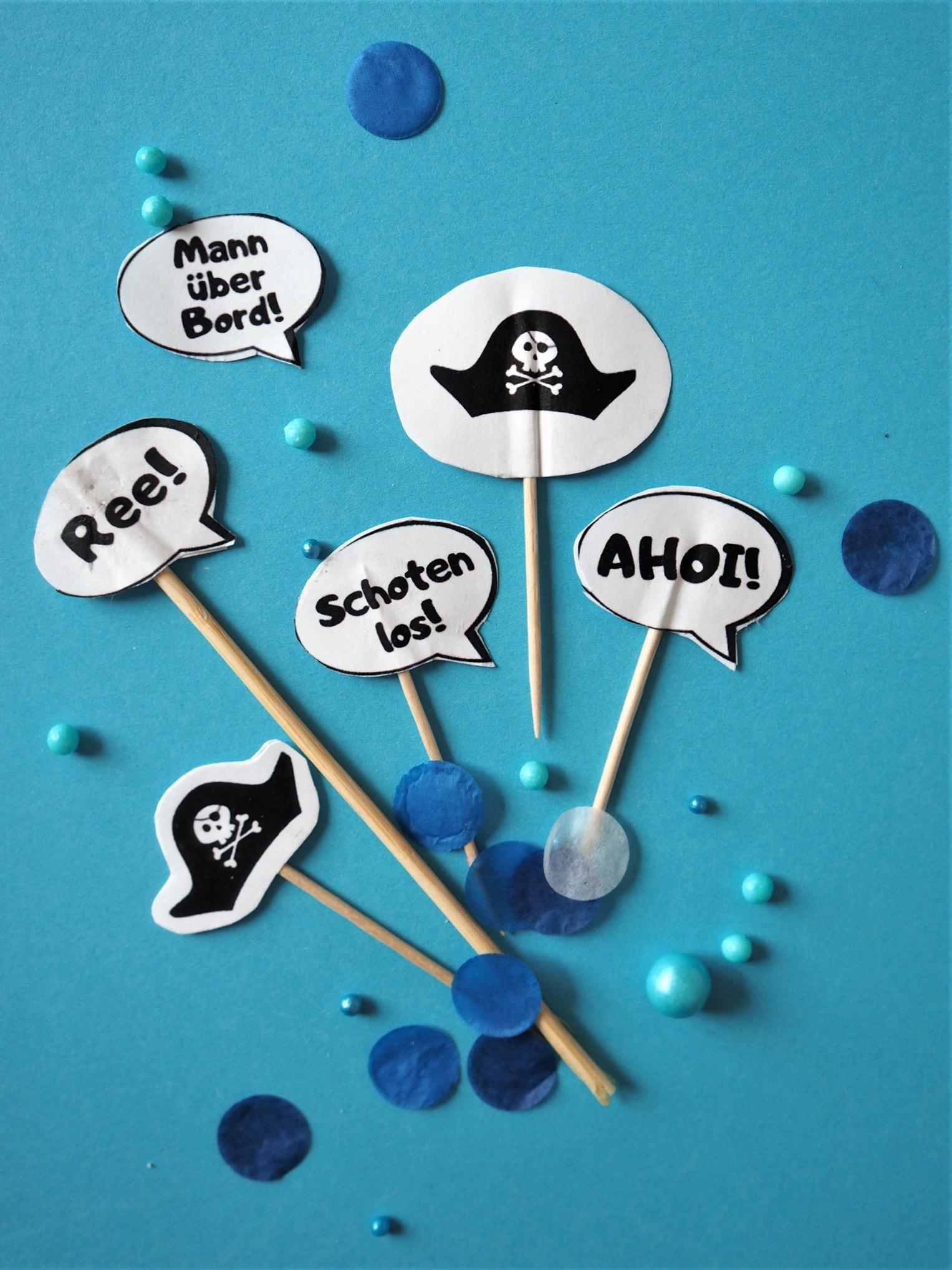 Piraten-Topper