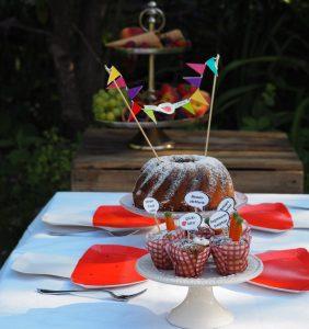 Gartenparty Picknick