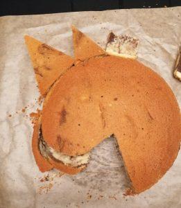 Einhorn-Kuchen Anleitung