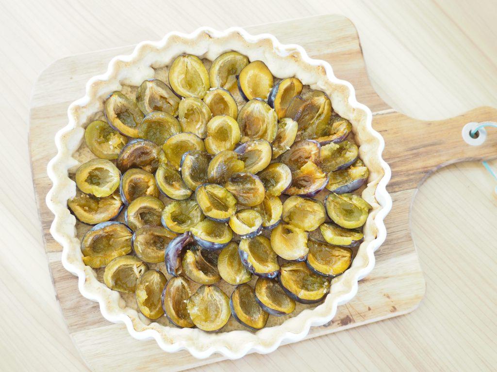 Zubereitung Zwetschgen-Walnuss-Tarte
