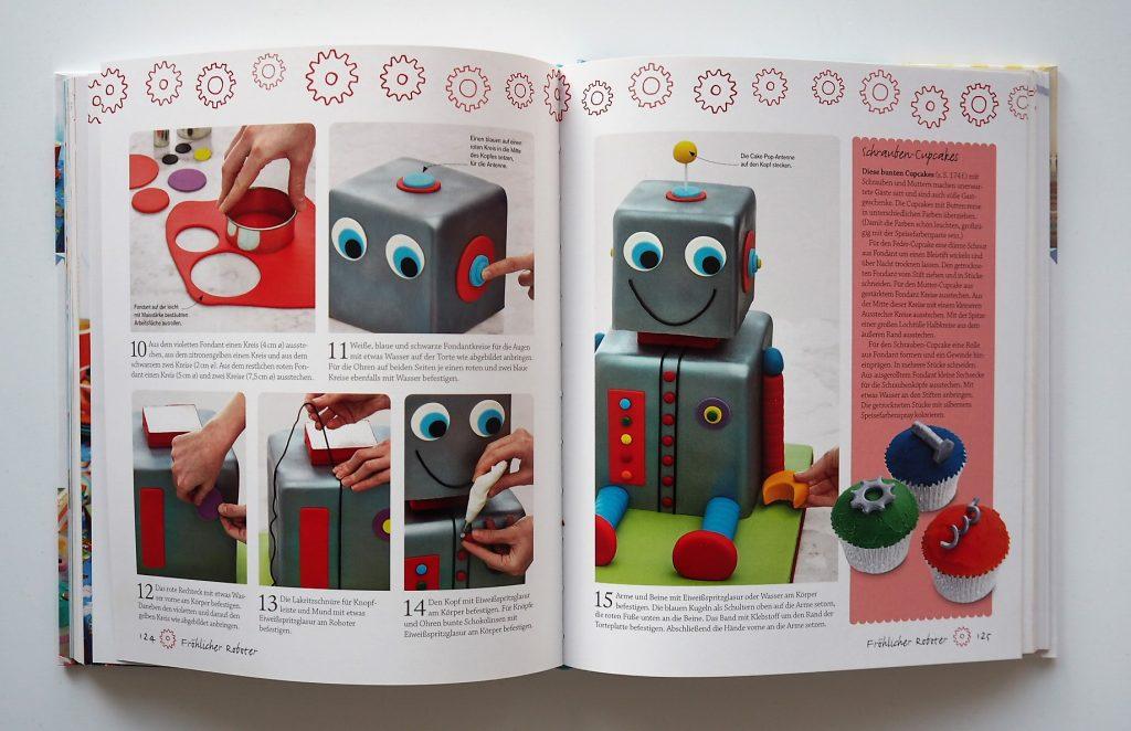 Roboterkuchen Schritt-für-Schritt