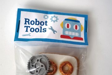 Robotergeburtstag Tool Kit