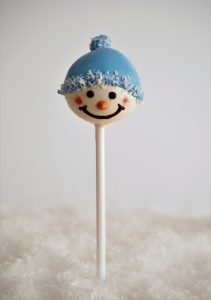 Cake Pop Schneemann Eat a Rainbwo