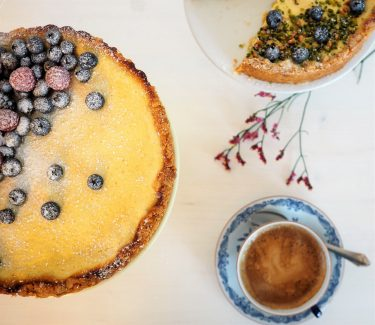 Greek Yoghurt Tart