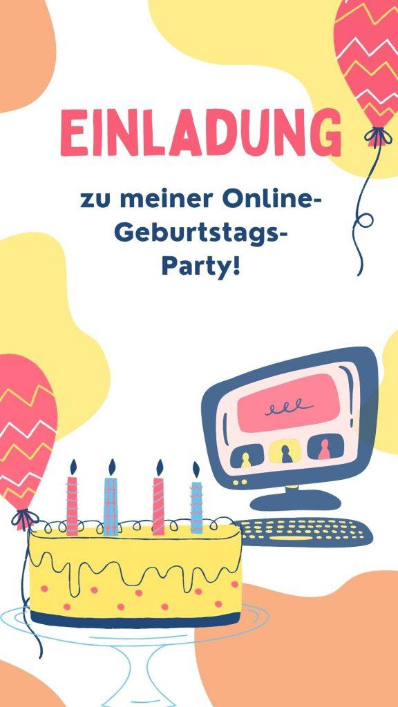 Online Kindergeburtstag