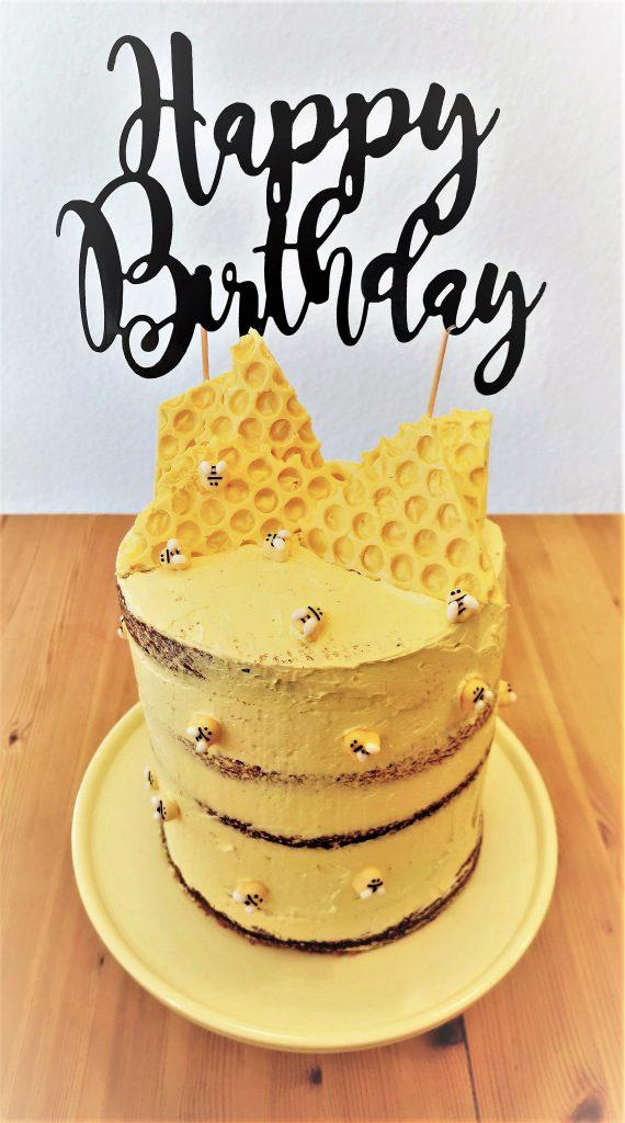 Bienen Torte Semi Naked