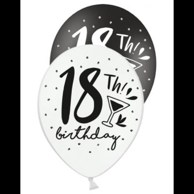 Ballons 18. Geburtstag