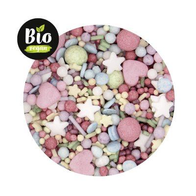 Zuckerstreusel Bio Pastell-Be-Happy-Mix