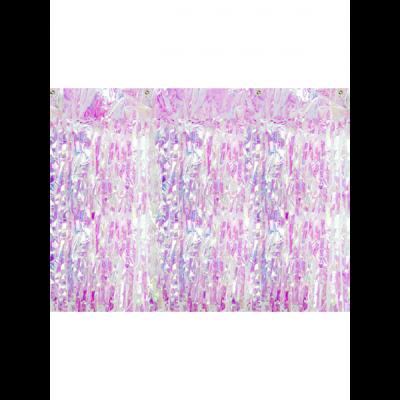 Glittervorhang irisierend