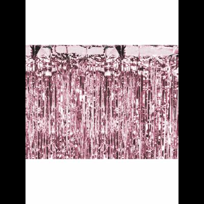 Glittervorhang rosegold