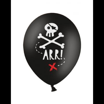 Luftballon Pirat Totenkopf